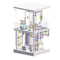 Anlage zur Verdampfung von Chlorsilanen / Plant for evaporation of Chlorosilanes