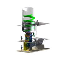 Antriebseinheit für die Herstellung von Polypropylen / Drive unit for PP-gas-phase
